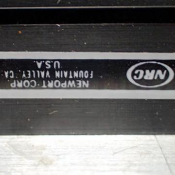 """NEWPORT   XY-M CROSS ROLLER 3.75"""" x 3.75"""" X-Y STAGE LINEAR ROLLER BEARING OPTO LAB"""