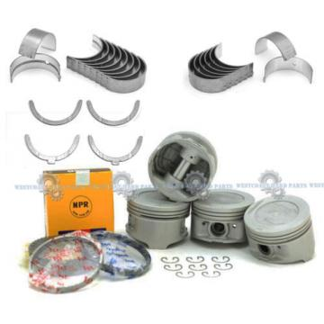 85-95   TOYOTA PICKUP 2.4L 22RE 22REC SOHC NPR PISTONS RINGS ENGINE BEARING SET