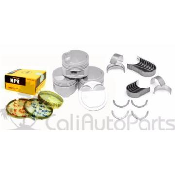92-98 TOYOTA TERCEL PASEO 1.5L 5EFE DOHC  NPR PISTONS + RINGS + ENGINE BEARINGS