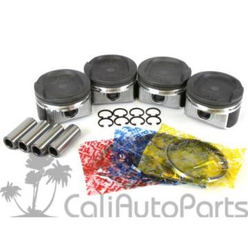FITS:   00-08 Toyota Celica Matrix 1.8L 1ZZFE MOLLY PISTONS RINGS ENGINE BEARINGS