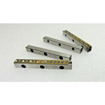 PRECISE   METAAL RSDE-3075 X 12RE-ACC Crossed Roller Linear Bearing Railsets