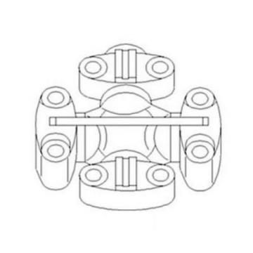 RE52347 Cross and Bearing Assembly for John Deere JD 7200 7210 7400 7410 7510