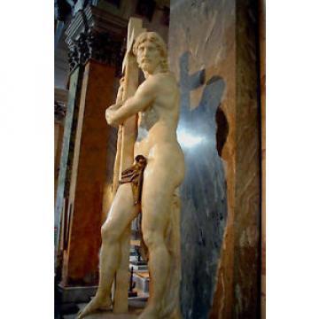 Art   Photo Print - Christ Bearing Cross - Michelangelo Buonarroti 1475 1564