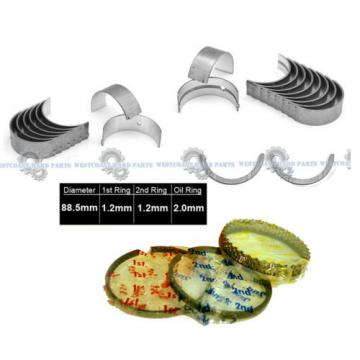 01-06   TOYOTA CAMRY SOLARA 2AZFE 2.4L PISTON RINGS SET MAIN ROD ENGINE BEARINGS
