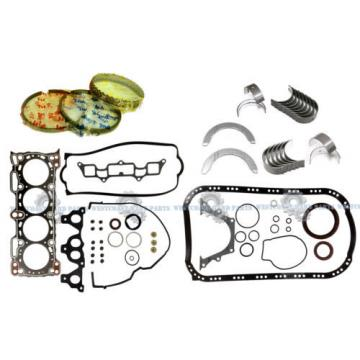 NEW 88-89 Honda Prelude S 2.0L 12V SOHC B20A3 Full Gasket Rings Engine Bearings