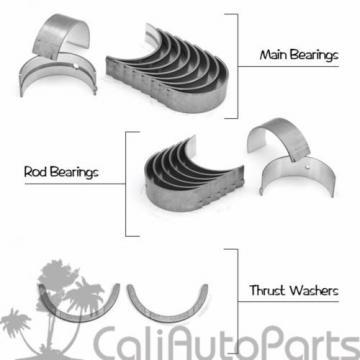 Honda   Civic Si CRX Del Sol Si 1.6L D16A6 D16Z6 Rings Set + Main Rod Bearings