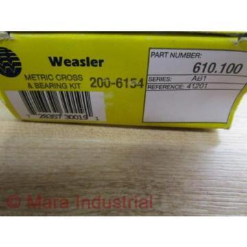 Weasler   610-100 Metric Cross & Bearing Kit