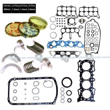 94-97   Accord DX LX Odyssey 2.2L SOHC F22B2 F22B6 GRAPHITE FULL SET RINGS BEARING