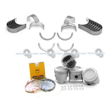 81-82   TOYOTA CELICA PICKUP 2.4L 22R SOHC 8V NPR PISTONS + RINGS SET BEARINGS KIT