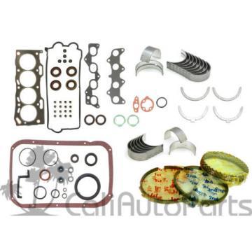 92-94   Toyota Paseo 1.5L 5EFE DOHC 16V FULL GASKET SET RINGS MAIN ROD BEARINGS