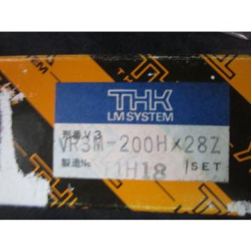 THK   VR3M-200HX28Z 200mm Cross Roller Guide Bearing PKG 2