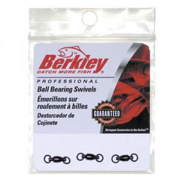 BERKLEY CROSS LOCK KUGELLAGER KARABINER WIRBEL PROFI BALL BEARING SWIVEL 25lb