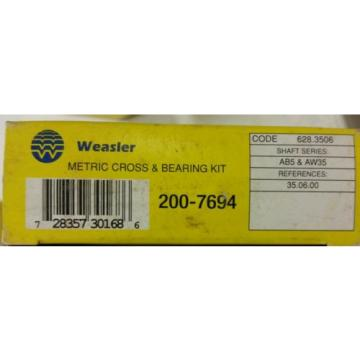Weasler   200-6794 610.700 metric cross & bearing kit NEW u joint Bearings