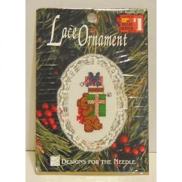 Designs For The Needle Lace Ornament Bearing Gifts 1267 Cross Stitch kit NEW