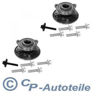 2x   Hub + Wheel bearing Volvo front V70 II Combi XC70 Cross Country Front axle