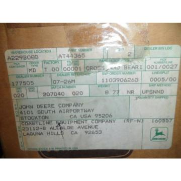 NEW Genuine OEM John Deere Part Cross and Bearing Assembly AT44365