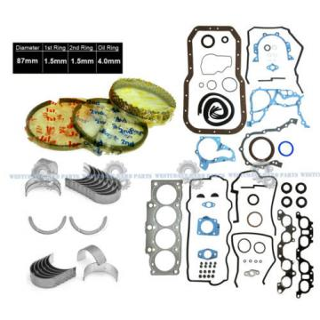 92-99   TOYOTA CELICA 97 CAMRY 2.2L 5SFE FULL SET + RINGS, MAIN ROD BEARINGS