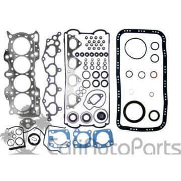 90-01   Acura Integra B18A1 GRAPHITE Full Set + Rings + Main Rod Engine Bearings
