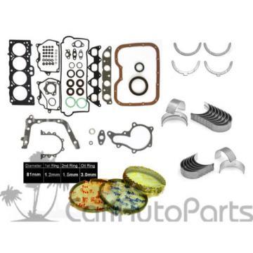 "93-97 Toyota Corolla 1.8L ""7AFE"" DOHC FULL SET RINGS MAIN ROD ENGINE BEARINGS"