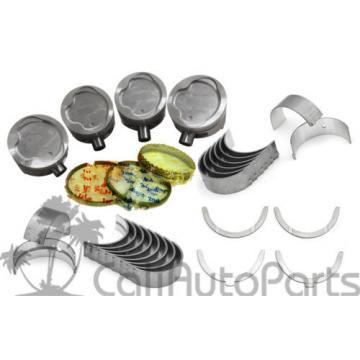 87-94   Toyota Tercel 1.5L SOHC 3E 3EE Pistons & Rings Main Rod Engine Bearings