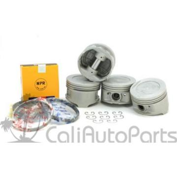 85-95 TOYOTA 4RUNNER 2.4L 22RE 22REC SOHC NPR PISTONS RINGS ENGINE BEARING SET