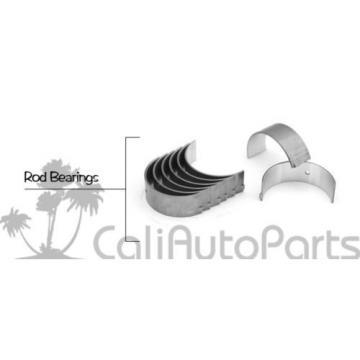 FITS:   06-10 HONDA CIVIC 1.8L 16V R18A1 R18A4 SOHC RINGS MAIN ROD ENGINE BEARINGS