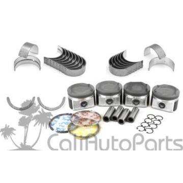FITS:   01-03 TOYOTA RAV4 2.0L 1AZFE STANDARD PISTONS RINGS KIT MAIN ROD BEARINGS