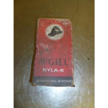 "Z21 McGill Nyla-K Mounted PILLOW BLOCK  Bearing CL-25-1  I.D 1"" NIB"