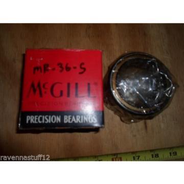 MCGILL MR-36-S PRECISION BEARING (NEW IN BOX)