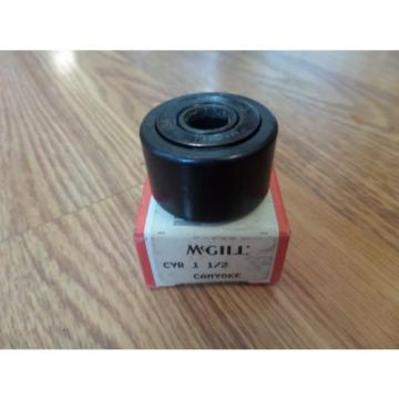 NEW MCGILL CAM YOKE ROLLER BEARING CYR 1-1/2 CYR1-1/2