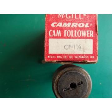 NEW McGILL CF - 1 1/4  CAM FOLLOWER BEARING