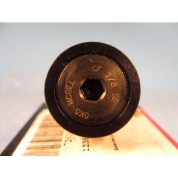 McGill CF 7/8SB, CF7/8SB, CF 7/8 SB, CAMROL® Standard Stud Cam Follower