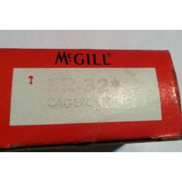 NEW McGill Precision Needle Bearing Model MR 32 CAGEROL MR-32