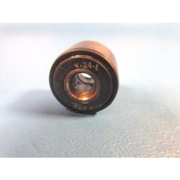 RBC Y-24-L Yoke Roller; Needle Bearing Straight Roller; Sealed (McGill CYR 3/4S)