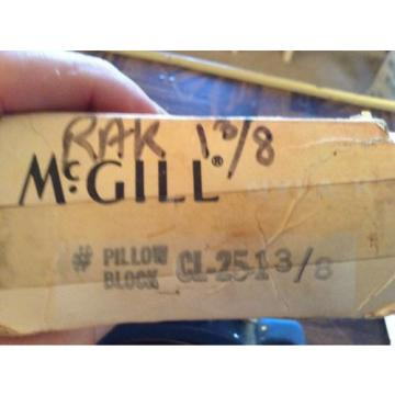 McGill pillow block bearing CL-25-1 3/8""