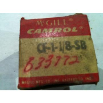 McGill Bearing Cam Follower CF-1-1/8-SB