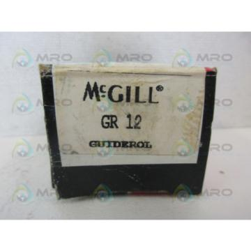 MCGILL GR-12 PRECISION BEARING *NEW IN BOX*