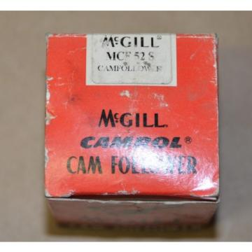 McGill CAMROL MCF52S Cam Follower Bearing - Stud diameter 20mm OD 52 mm NEW