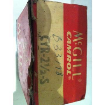 McGill Bearing Cam Yoke Roller CYR-2-1/2-S