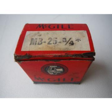 "MCGill Bearing MB-25-3/4"""