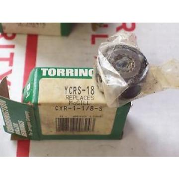 *NEW* TORRINGTON BEARING (replaces McGill CYR-1-1/8-S) YCRS18 , YCRS-18
