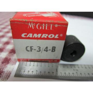 TOOL McGILL CAMROL CF-3/4-B CAM FOLLOWER ROLLER BEARING BIN#3