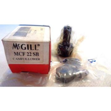 NEW IN BOX MCGILL MCF22SB  CAM FOLLOWER BEARING