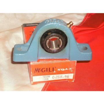 McGILL C-25-K-3/4 NYLA-K PILLOW BLOCK BEARING C25K34