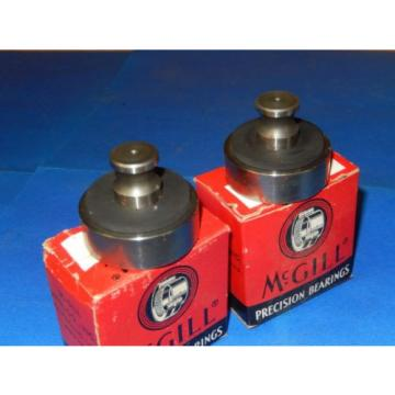 "SET OF 2 McGILL PRECISION BEARINGS 1-3/4"" DIAMETER #SK 2555 ~ MADE IN U.S.A."