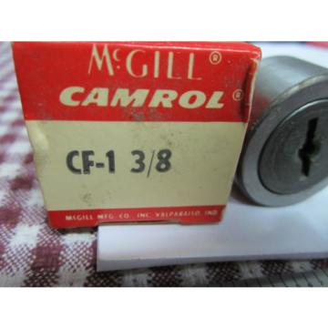 TOOL McGILL CAMROL CF-1 3/8 CAM FOLLOWER ROLLER BEARING BIN#3