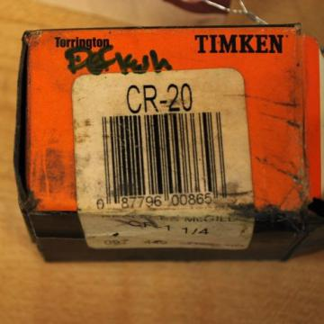 "Timken CR-20 Replaces McGill CF-1 1/4 Cam Follower Bearing 1 1/4"" - NEW"