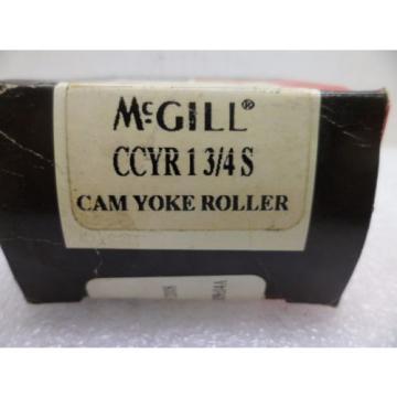 MCGILL CCYR 1 3/4S CAM YOKE ROLLER SEALED BEARING  NOS