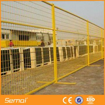 2016 hot sale PVC coated american temporary fence