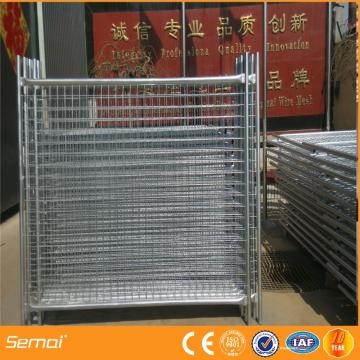 Canadaconstruction temporary fencing with stand and clips (Factory)ISO 9001/temporary fence